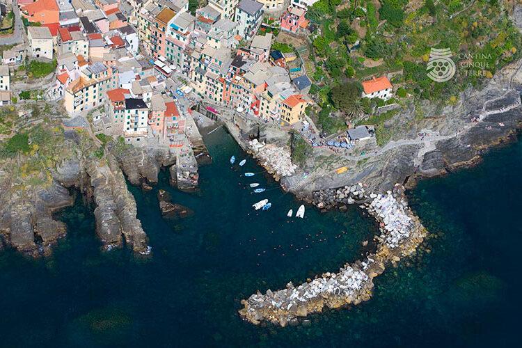 cinque terre from portofino