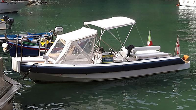 5 terre private boat tour